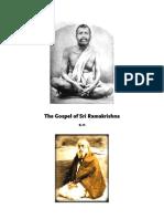 The Gospel of Sri Ramakrishna by m