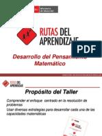 Taller Macro Matemática Inicial 2013