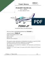 Flght Manual p2002jf