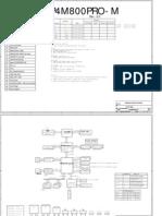 Mainboard ESC Model P4M800PRO M