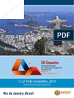 Circular Encontro AIESAD Rio 2014 - Espanhol