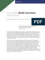 Improving Field Service Productivity
