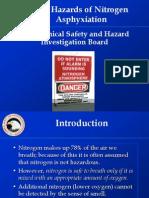 Nitrogen Asphyxiation Bulletin Training Presentation