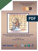 Guia de Validacion de Materiales Educativos 2.0