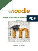 Lara ManualMoodleProfesores 2009