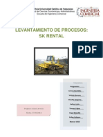 Levantamiento de Procesos SK Rental