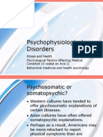 Psycho Physiological Disorders