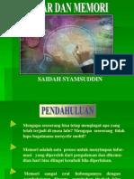 Belajar & Memori