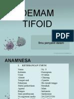 PPT Demam tifoid