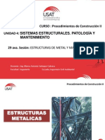 Exposicion Sesion N°29 - Estructuras Metalicas