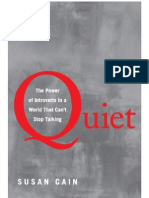 Quiet; The Power of Introverts