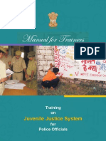 Police Training Manual on Juvenile Justice