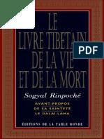 Le Livre Tibetain de La Vie Et de La Mort