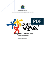 Documento Base - Programa Cultura Viva