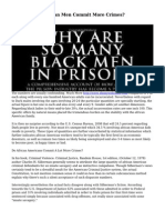 Do African American Men Commit More Crimes?