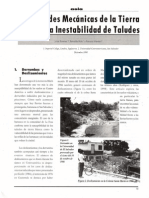 TB y Estabilidad Taludes, Bommer, Rolo y Méndez