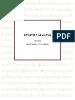 OVA vs AVA