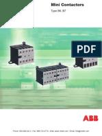 ABB Mini Contactors