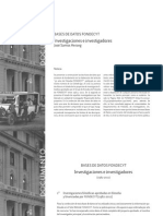 Investigaciones e Investigadores 1982-2011 (Santos)
