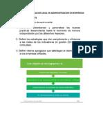 Taller Ejercicio de Planeacion 2011 en Administracion de Empresas