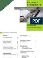 Lohnsteuer Kompakt 2010 - Praktisches Handbuch