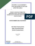Water Hammer Report 1