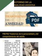 F60-F62 Trastornos de La Personalidad y Del Comportamiento