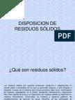 Disposición de Residuos Sólidos.ppt