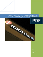CRM Strategy of ICICI Bank