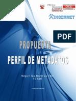 007. Propuesta de Metadatos INGEMMET- IsO19115_Ver-01