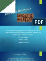 Exposicion Origen Imperio Romano a Ley XII Tablas