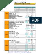 Cronograma Prácticas Para Alumnos