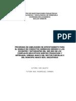 Tesis Habilidades de Afrontamiento Preliminares123 24112012