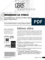 Minimser Le Stress