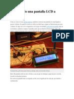 Conectando Una Pantalla LCD a Arduino
