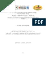 """"""" SELECCIÓN Y DIFUSIÓN DE VARIEDADES DE CAFÉ ARÁBICO (Coffea arabica L.) ADAPTADASALOSPRINCIPALESAGROECOSISTEMASCAFETALEROSDELECUADOR"""""""