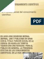3.1 Funcion Social Del Conocimiento Cientifico