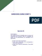 Ejercicios Curso COBIT 5