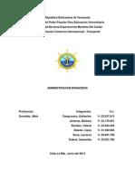Trabajo Administracion Financiera.doc