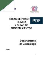 Guias Ginecologia 2009