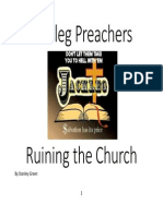 Jackleg Preachers Ruining the Church