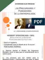 Los Precursores y Fundadores de La Antropología