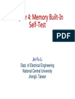 memory built in self test