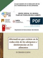 Tecnologia Alergia Alimentaria