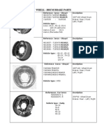 Drum Brake Catalogue