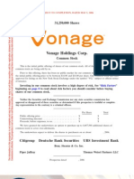 Vonage Holdings Preliminary Prospectus 0506