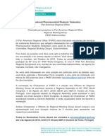 [Portugues] Call for IPSF PARO Positions 2014-2015