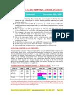 Asahi India Glass Ltd-short analysis-DIET REPORT-VRK100-26112009