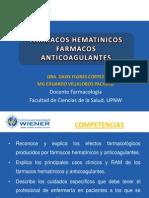 Clase 10 Hematinicos Anticoagulantes-M