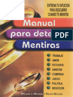 Manual Para Detectar Mentiras